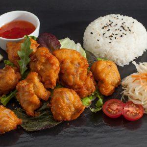 PC5 Huit Tempura poulet