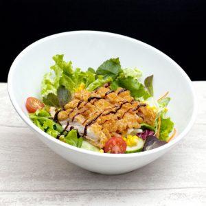 Salade poulet teriyaki