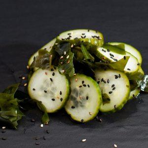 Wakame concombre algue