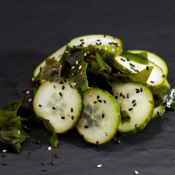 Wakamé concombre algue